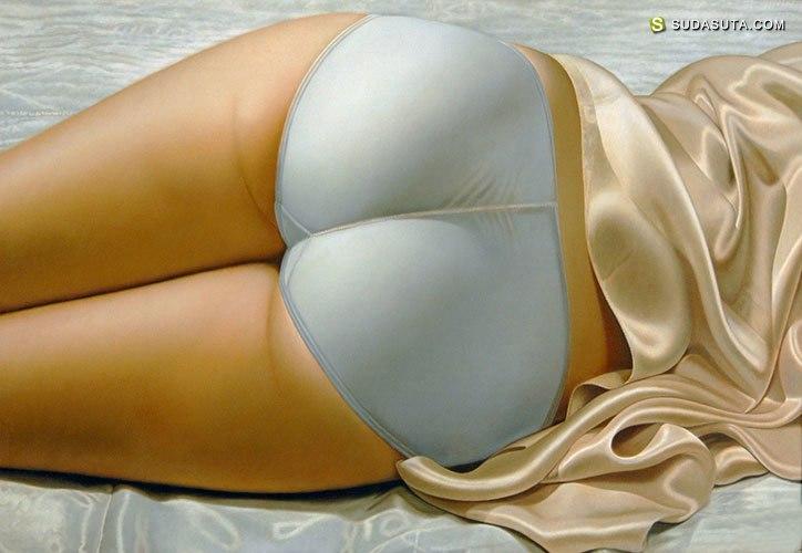 John C. Kacere 写实主义性感绘画艺术欣赏