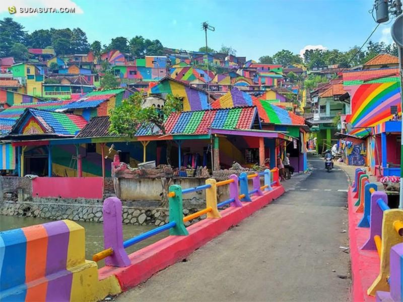 Kampung Pelangi 彩虹色小镇