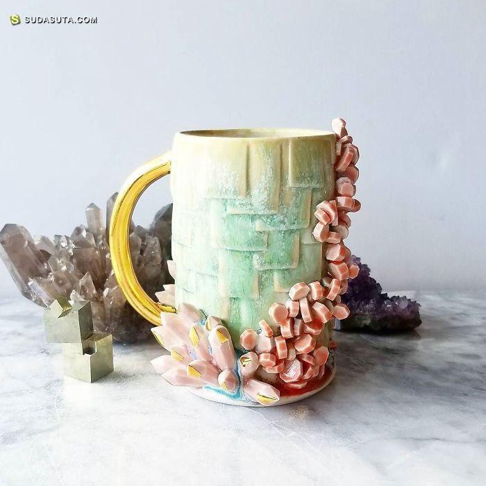 Katie Marks 不可思议的手工咖啡杯