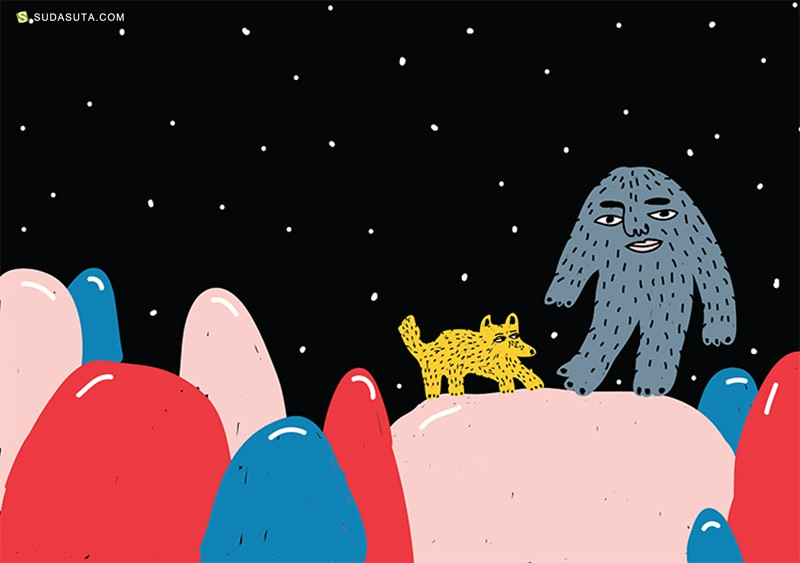 Kristina Suvorova 有趣的卡通插画欣赏