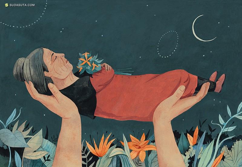 Luisa Rivera 商业插画欣赏