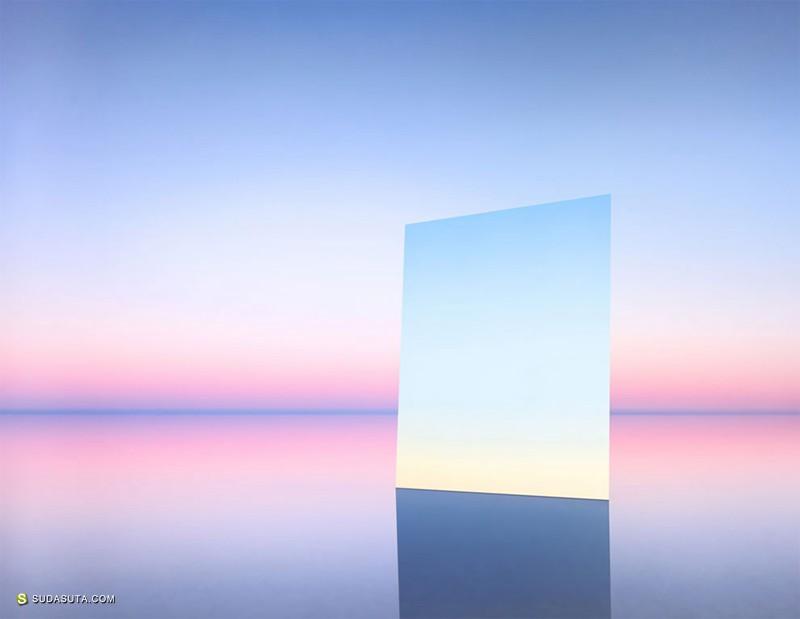 Murray Fredericks 镜子与海 装置设计欣赏