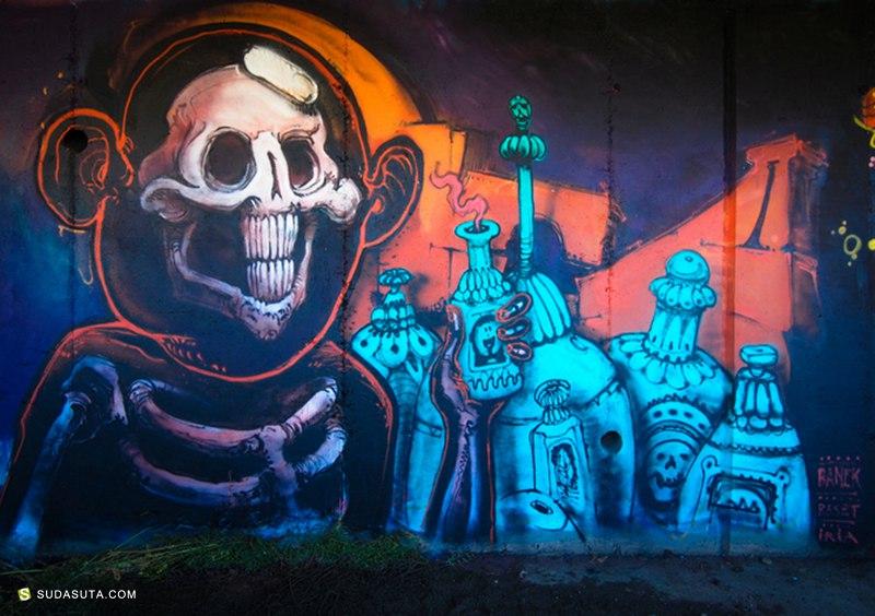 Pere Banek 不可思议的城市墙绘艺术