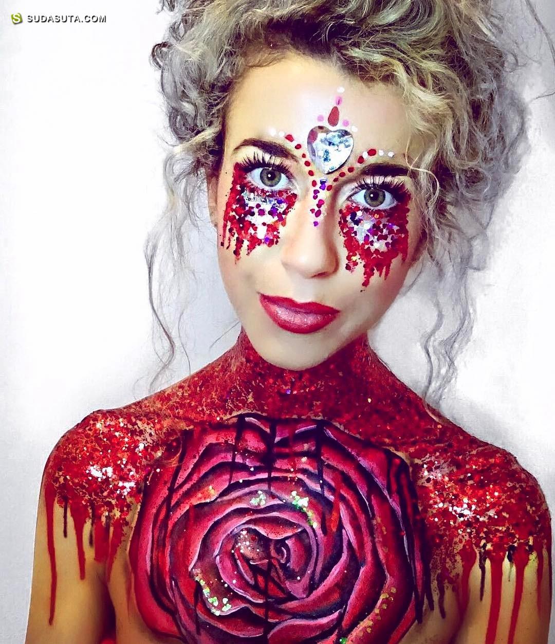 THE GYPSY SHRINE 那些闪亮着的妆面艺术