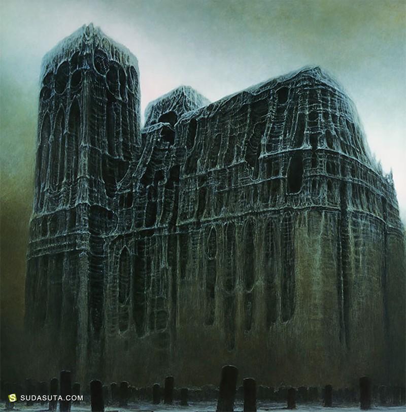 Zdzisław Beksiński 描绘地狱的艺术家