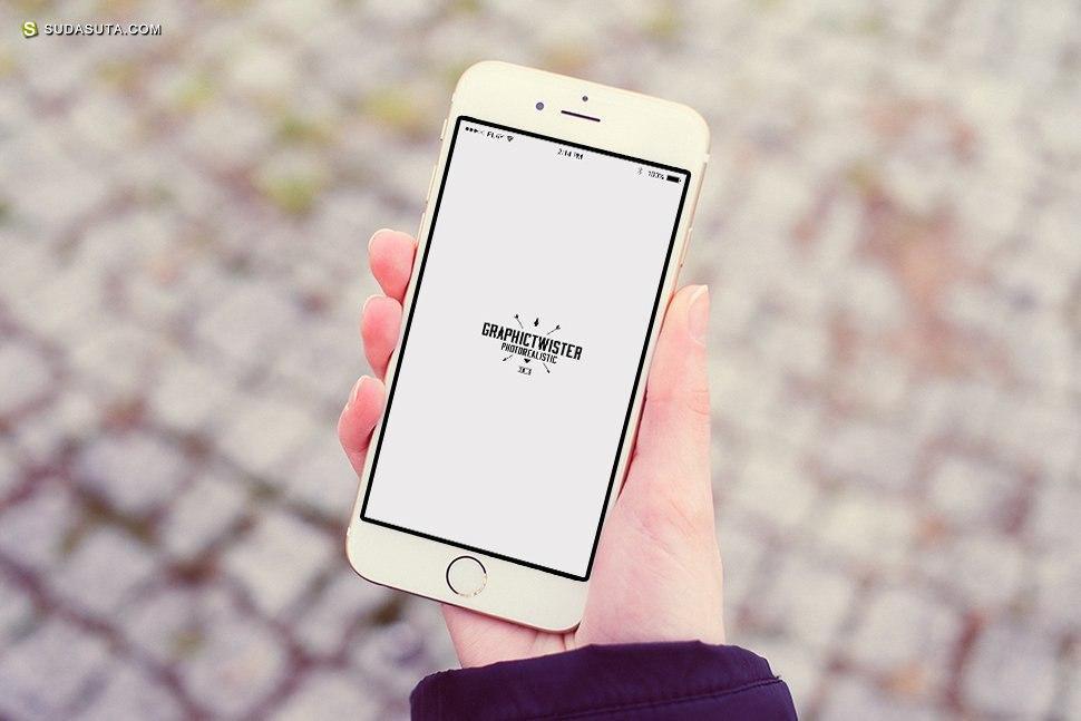 20个免费真实的iPhone 合成图 - 模拟您的移动设计!