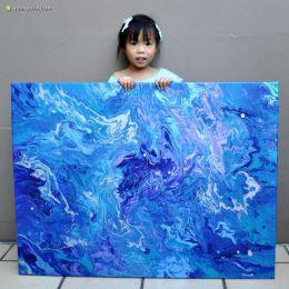 Cassie 画画的孩子