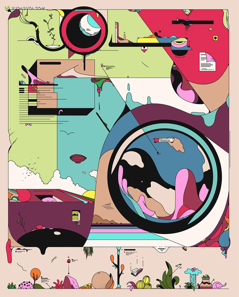 Ori Toor 图形设计欣赏
