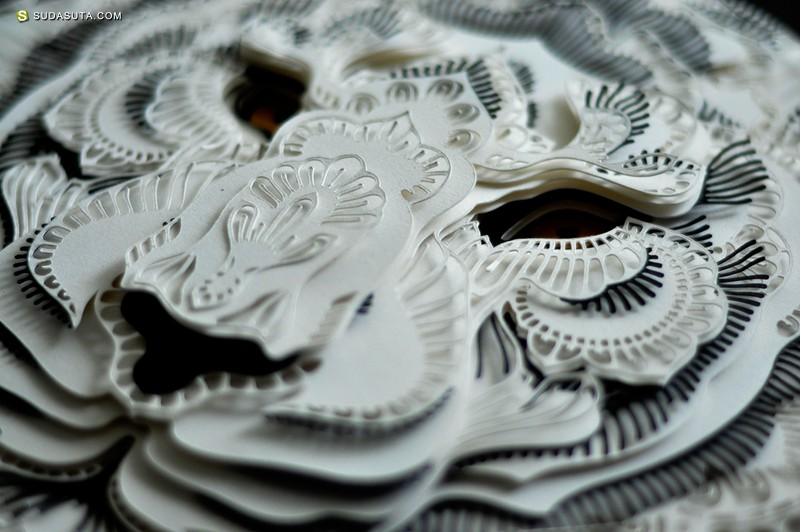 Patrick Cabral 剪纸的艺术