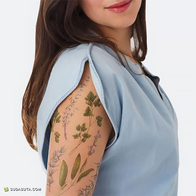 VINCENT JEANNEROT 植物学纹身设计欣赏