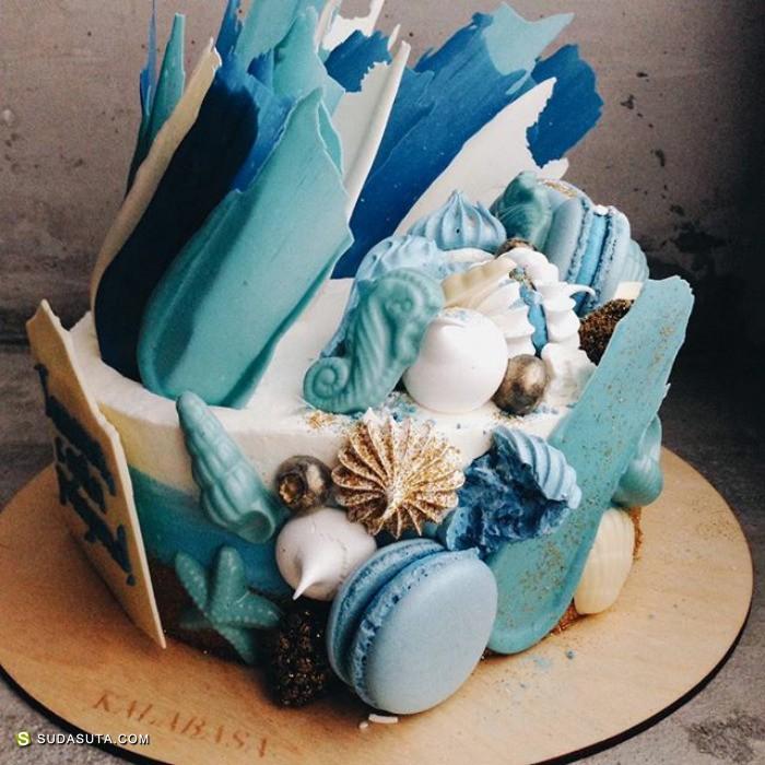 Kalabasa 幸福的形状 蛋糕设计欣赏