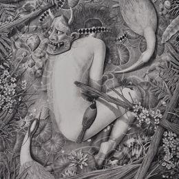 Akuakanaloa 骷髅与花 手绘插画欣赏