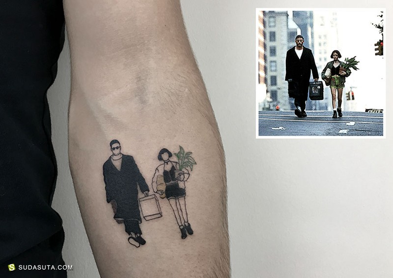 Alican Gorgu 纹身设计欣赏