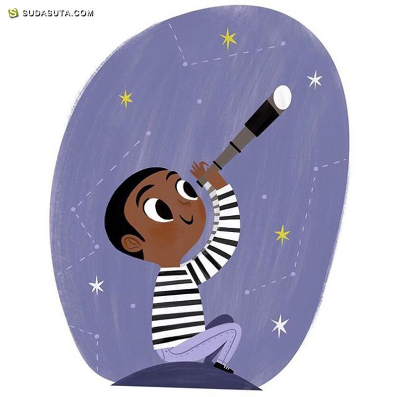 Allison Black 儿童插画欣赏