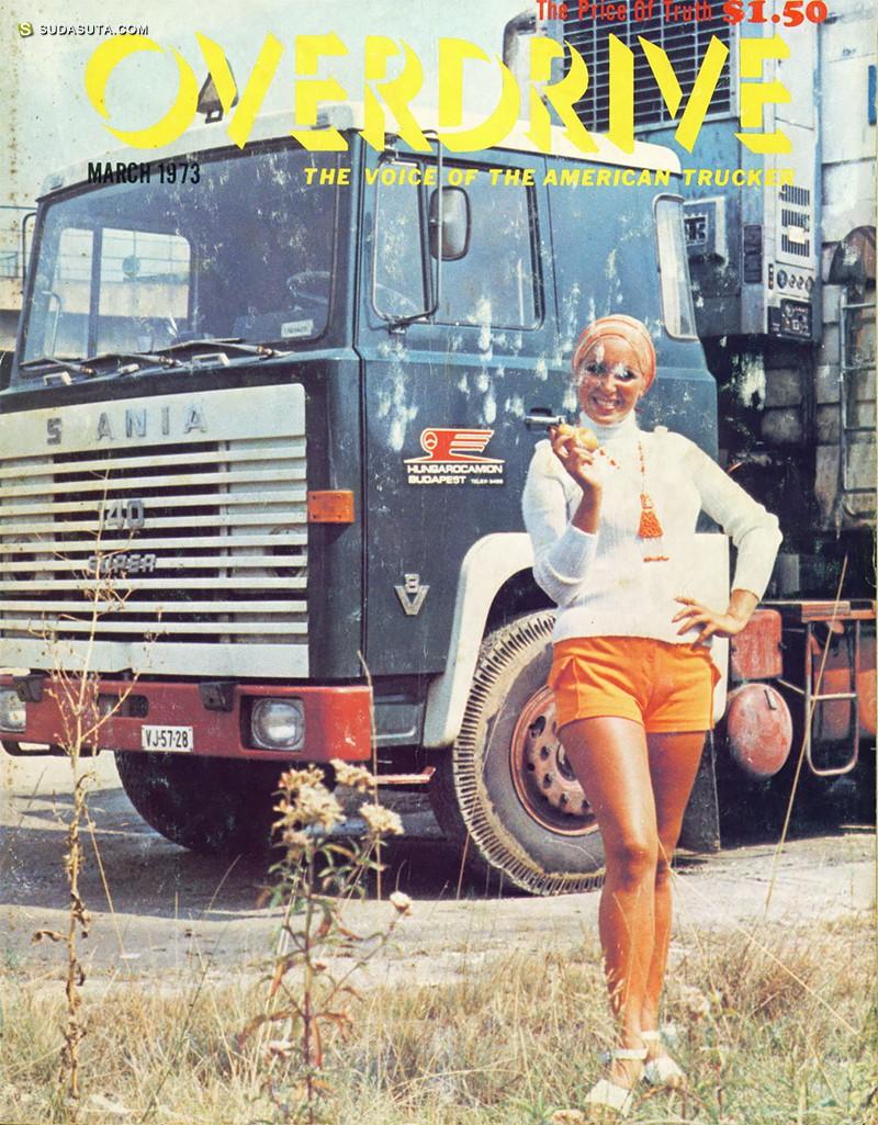 超级公路英雄 卡车司机的招贴设计欣赏