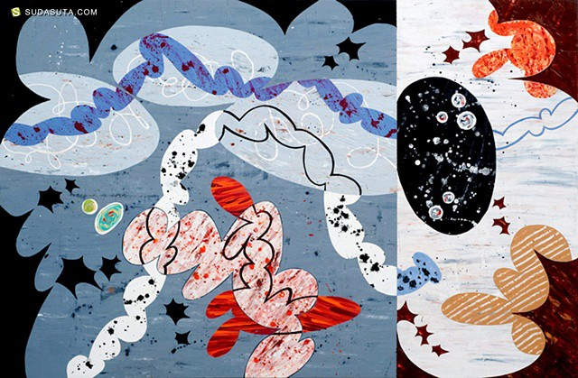 Beverly Kedzior 混合抽象插画欣赏