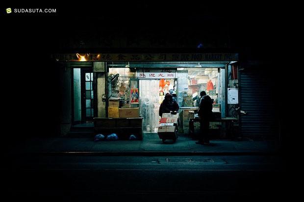 Daniel Soares  纽约夜市