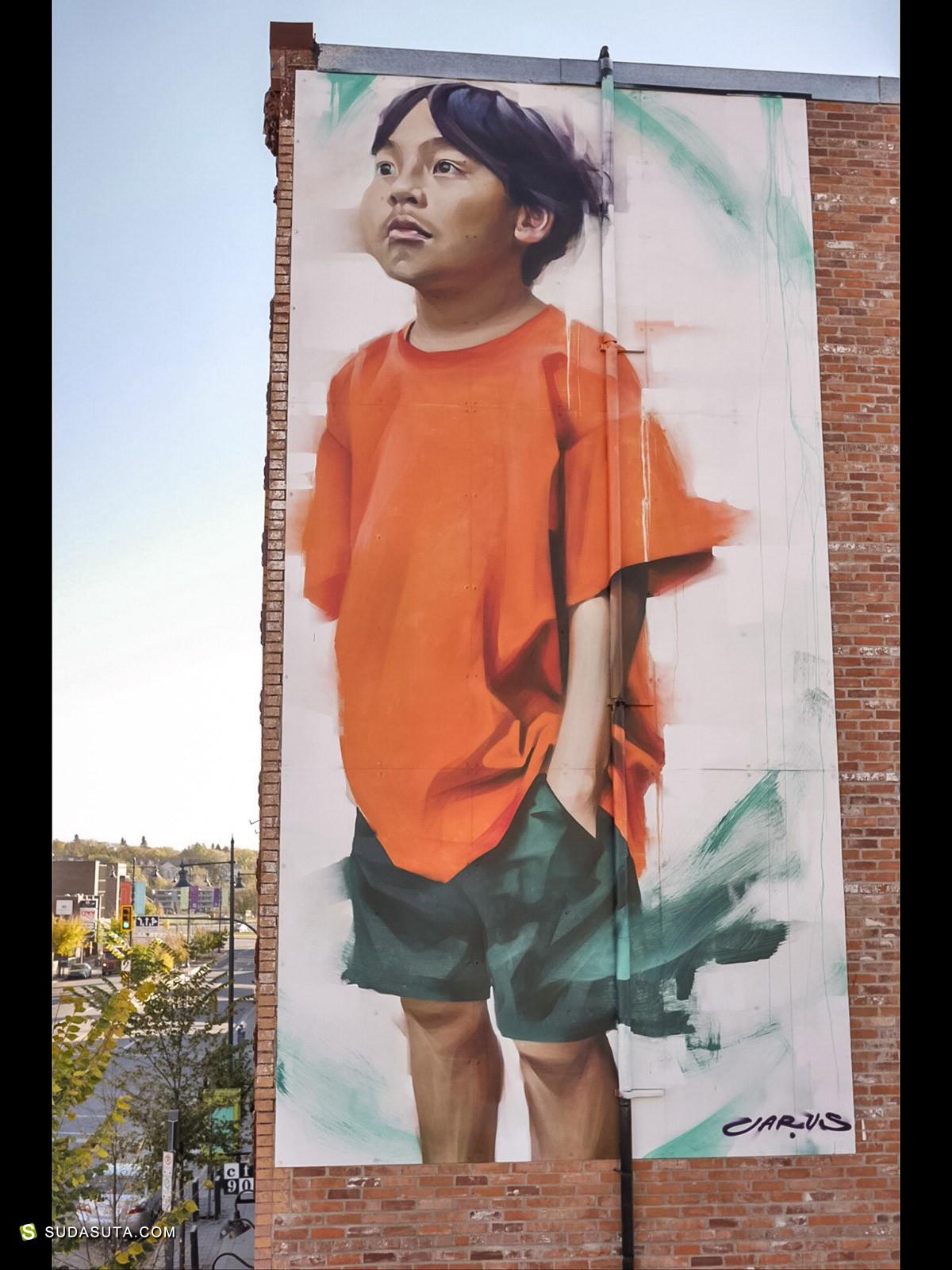 城市艺术家 Emmanuel Jarus
