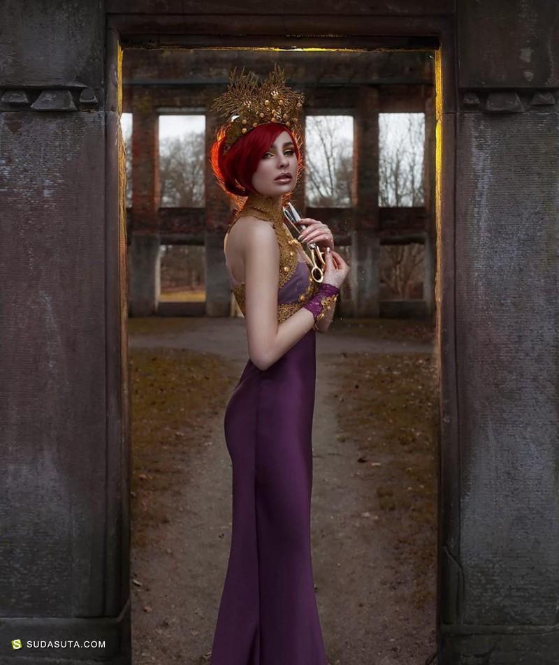 Grace Almera 超现实主义的梦幻肖像摄影欣赏