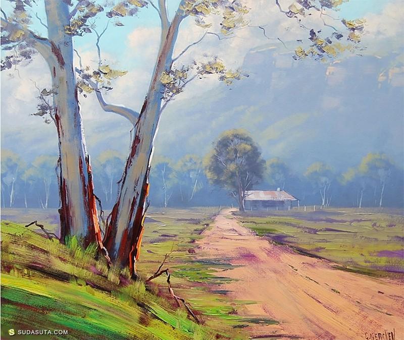 Graham Gercken 油画作品欣赏