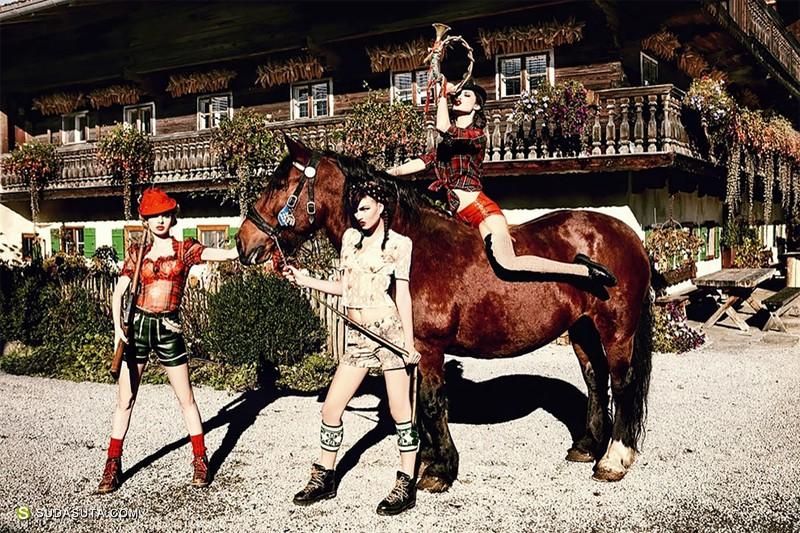 Ellen von Unwerth 时尚性感人像摄影欣赏