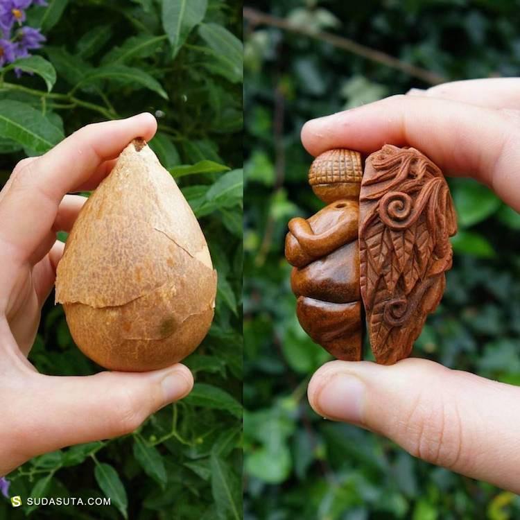 Jan Campbell 每一个鳄梨壳都住着一个小神仙