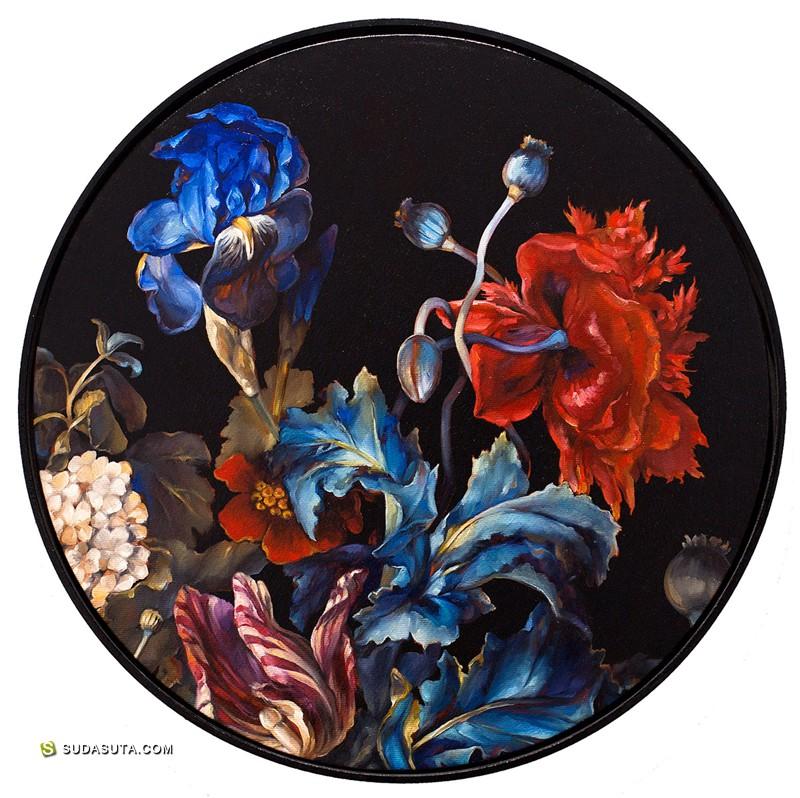 Karla Marchesi 超现实主义绘画《 After Nature》