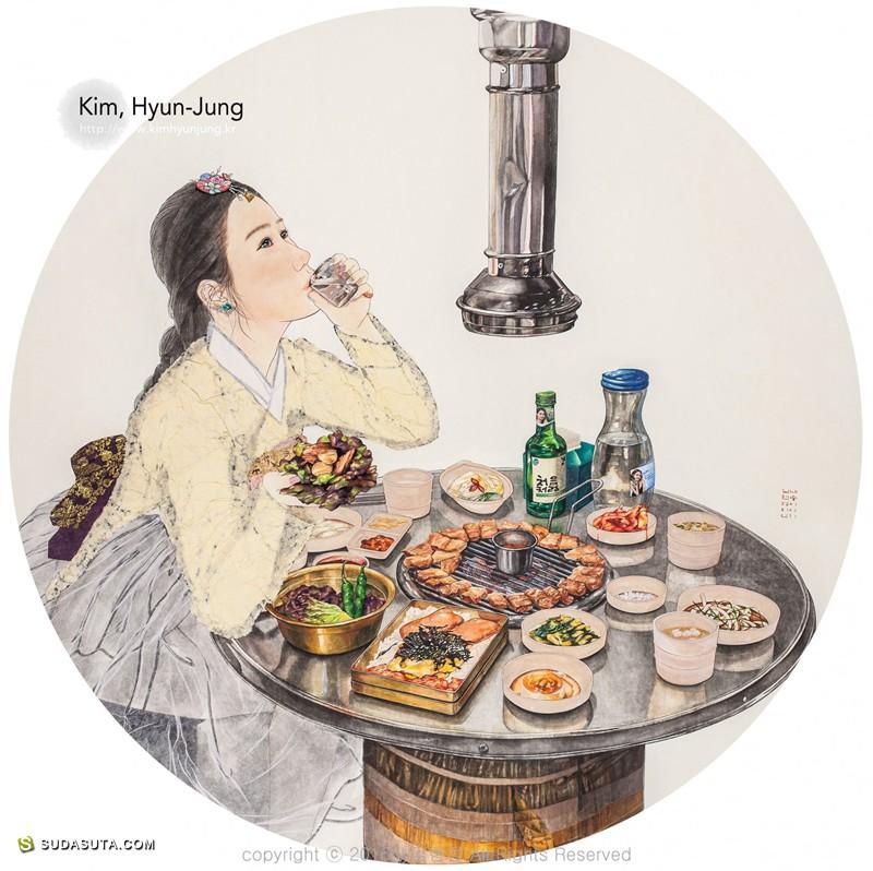 Kim Hyun-Jung 插画作品欣赏
