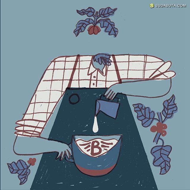 David J. McMillan 卡通涂鸦设计欣赏