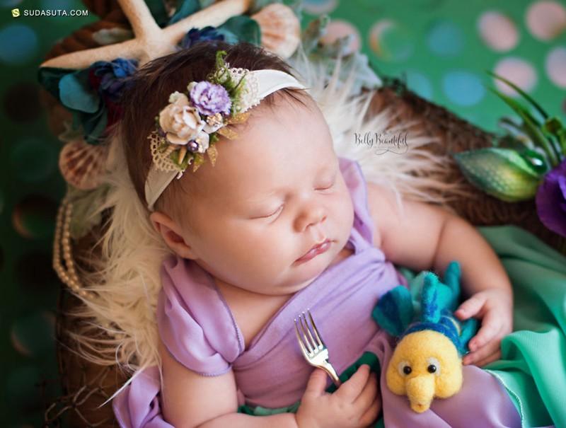Karen Marie 小小的迪士尼公主 儿童摄影欣赏