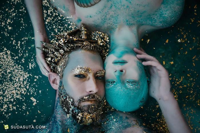 坠入Rachel Sigmon 的幻想世界 超现实主义摄影作品欣赏