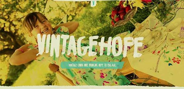 28个复古风格的创意个人网站设计欣赏