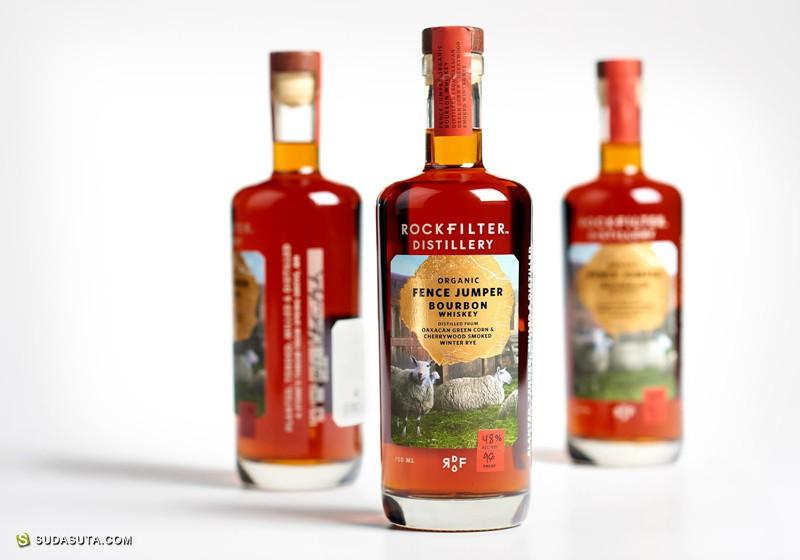 RockFilter Distillery 包装设计欣赏