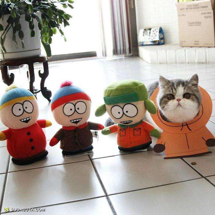 Snoopy Moopy & Doby 的幸福生活 宠物cosplay欣赏