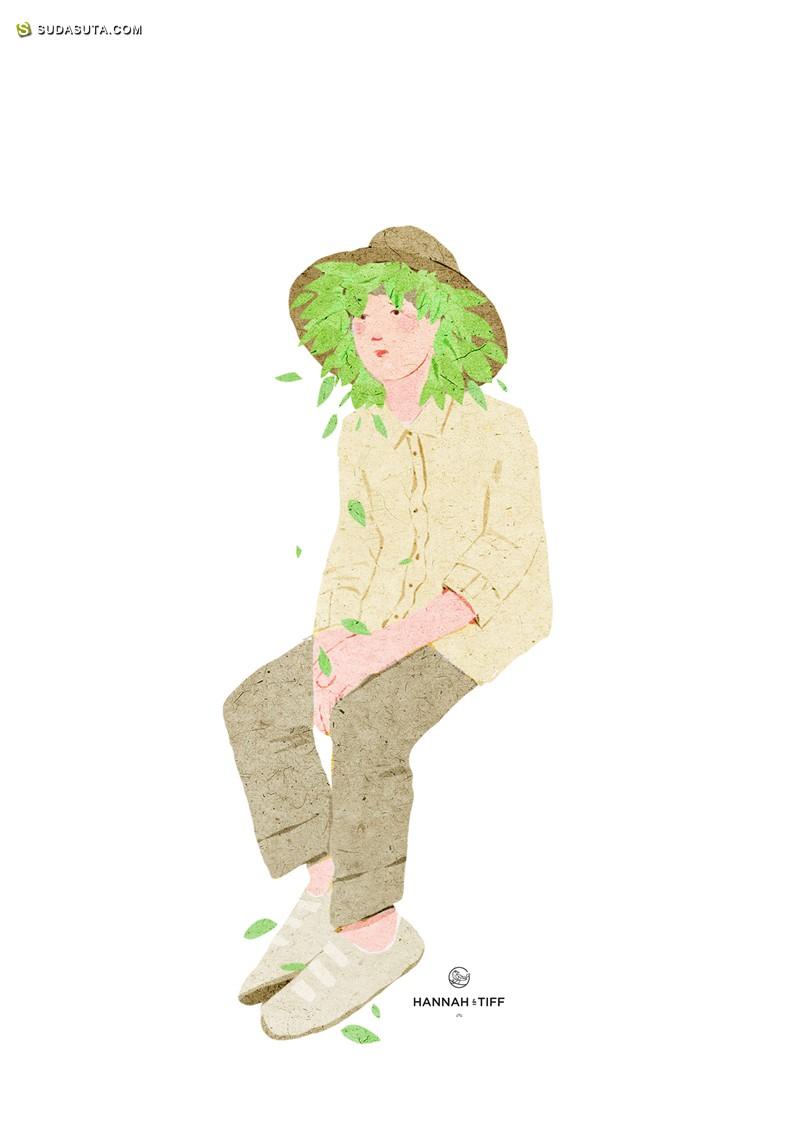 Xuan Loc Xuan 安静的秋天 绘画艺术欣赏