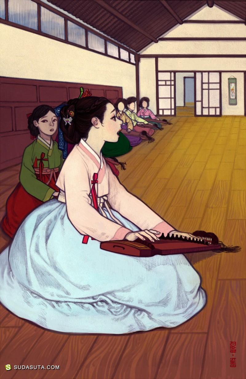 Yudori 情色插画欣赏