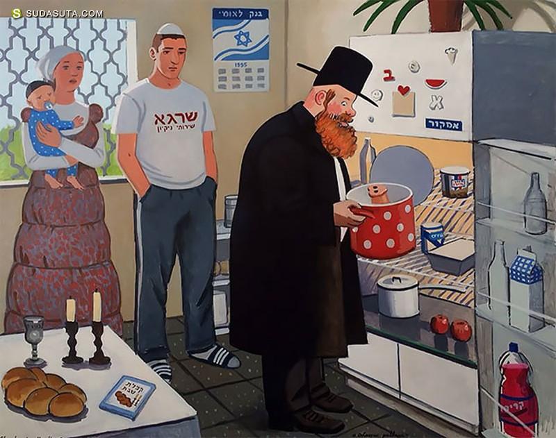 Zoya Cherkassky-Nnadi 绘画艺术欣赏