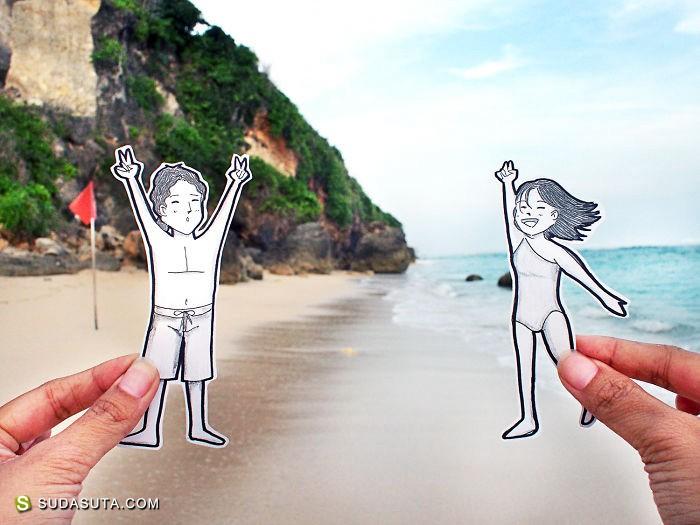 Doodledeux 以有趣的方式记录旅行