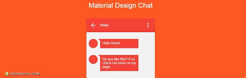 Material设计 20个实用CSS代码片段