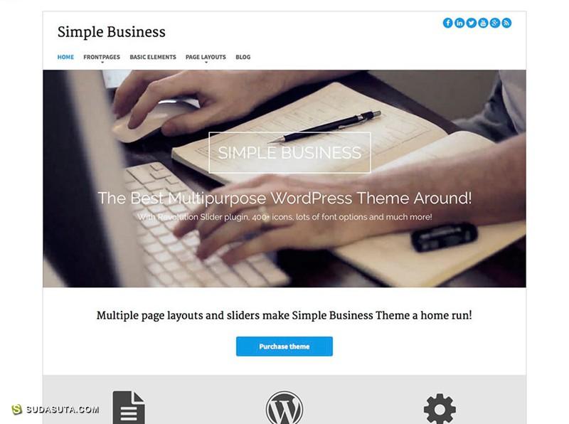 25个极好的以Bootstrap为框架的Wordpress免费主题下载