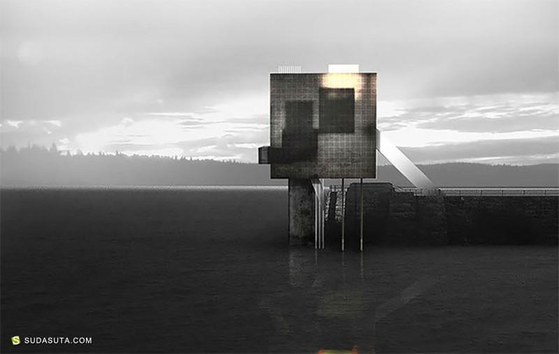 Adrian Labaut Hernandez 孤独的灯塔 数字艺术作品欣赏