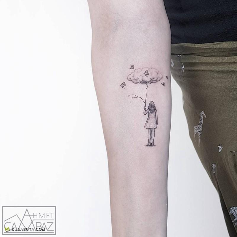 Ahmet Cambaz 纹身设计欣赏