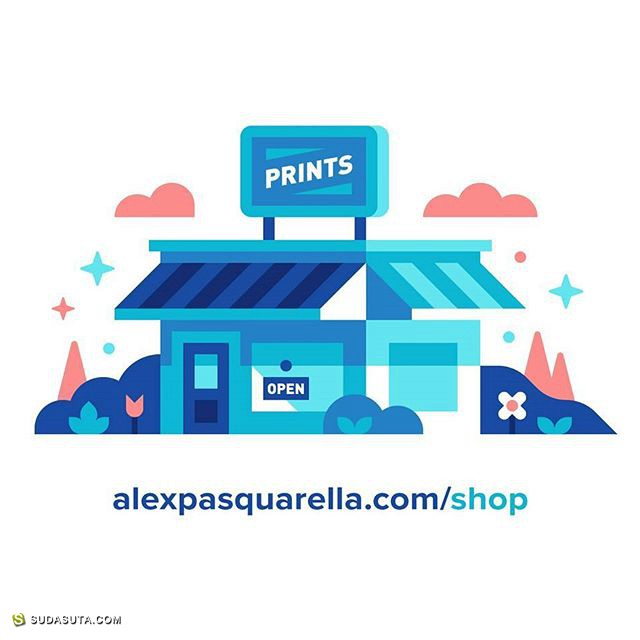Alex Pasquarella 闯进马里奥的世界 图形设计欣赏