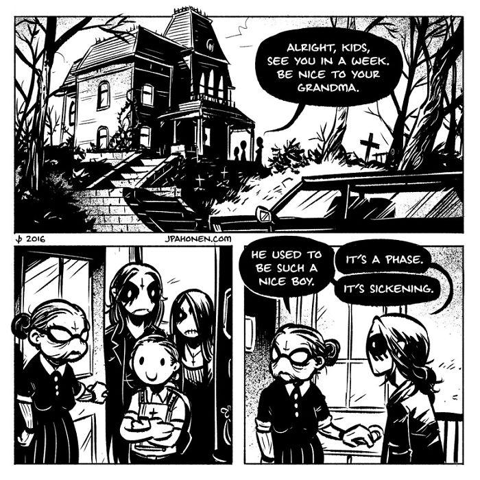 JP Ahonen 的重口味卡通漫画