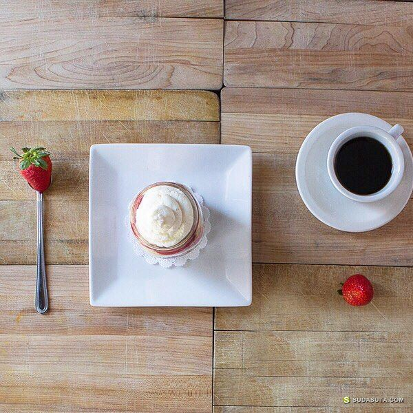 Caroline Thurman 一同分享美食的艺术