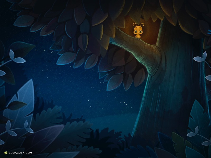 Elena Burkova 卡通游戏造型设计欣赏