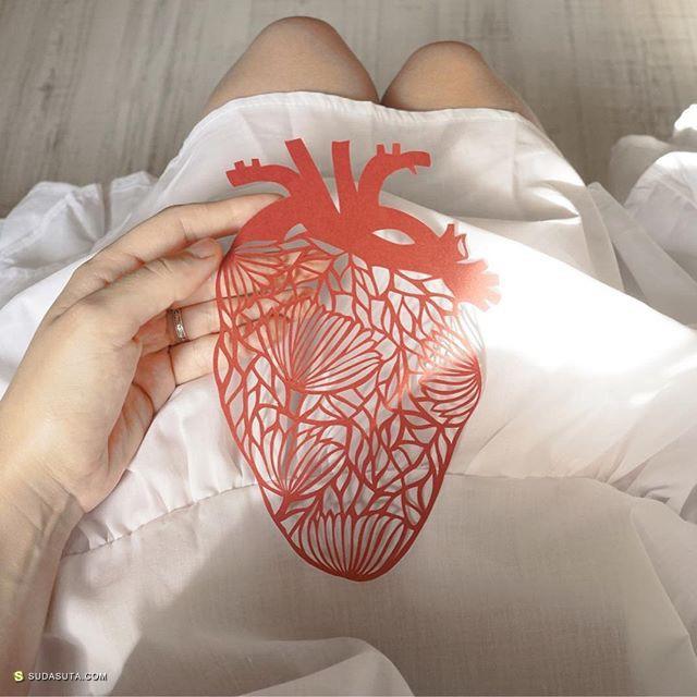 Eugenia Zoloto 细腻唯美的剪纸艺术