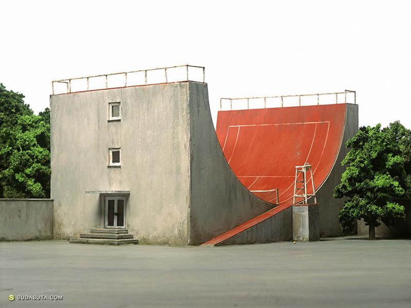 Frank Kunert 奇妙的微型景观