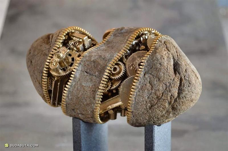 Hirotoshi Ito 石头的艺术 雕塑设计欣赏