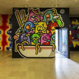 CitéInternationale Universaire 不可思议的墙上艺术